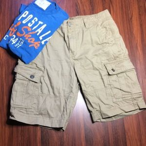 Other - Old Navy Men's Tan Cargo Shorts E1